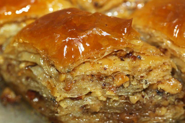 Albanian bakllava food