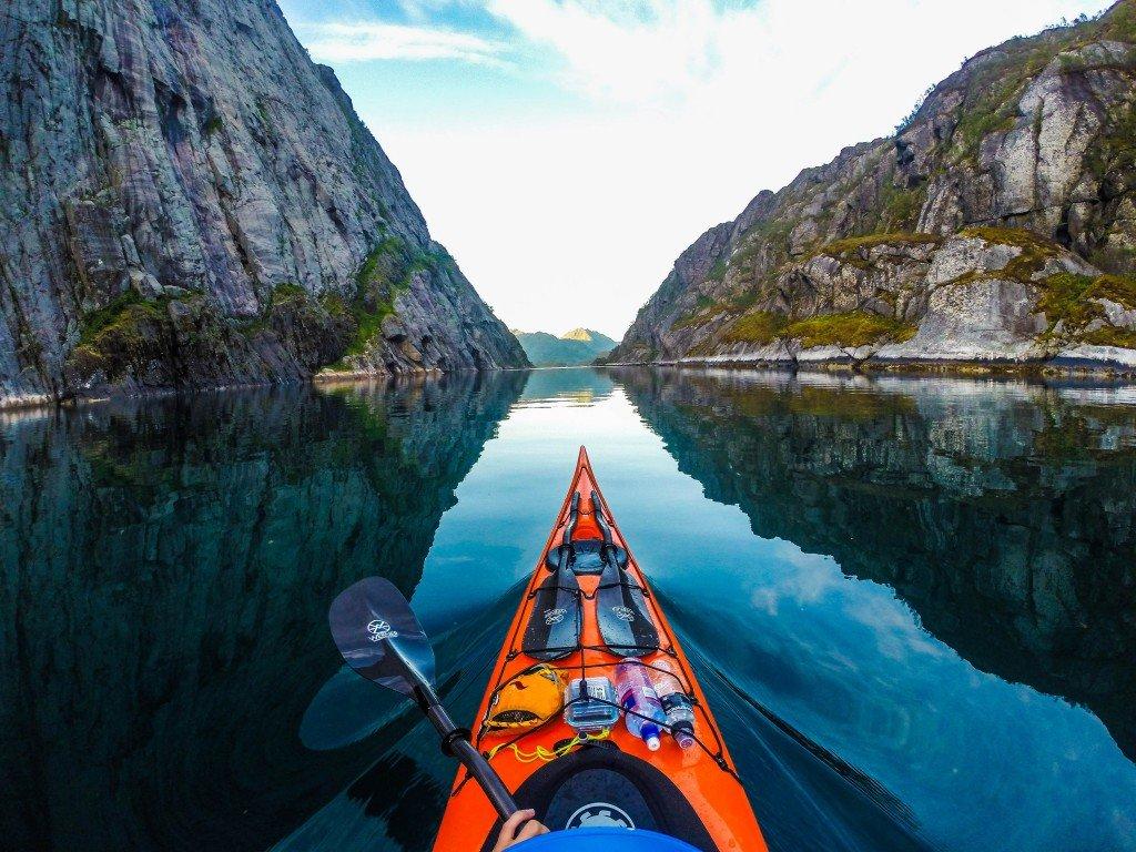 Koman lake Albania