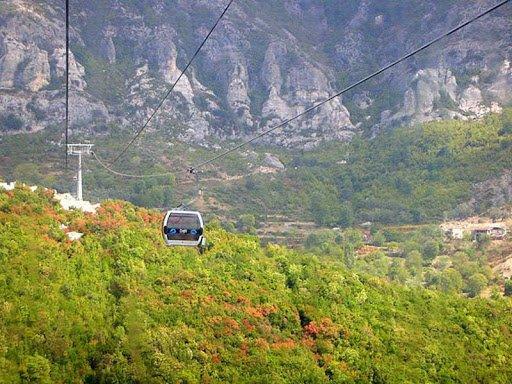 Mountain Dajti Tirana