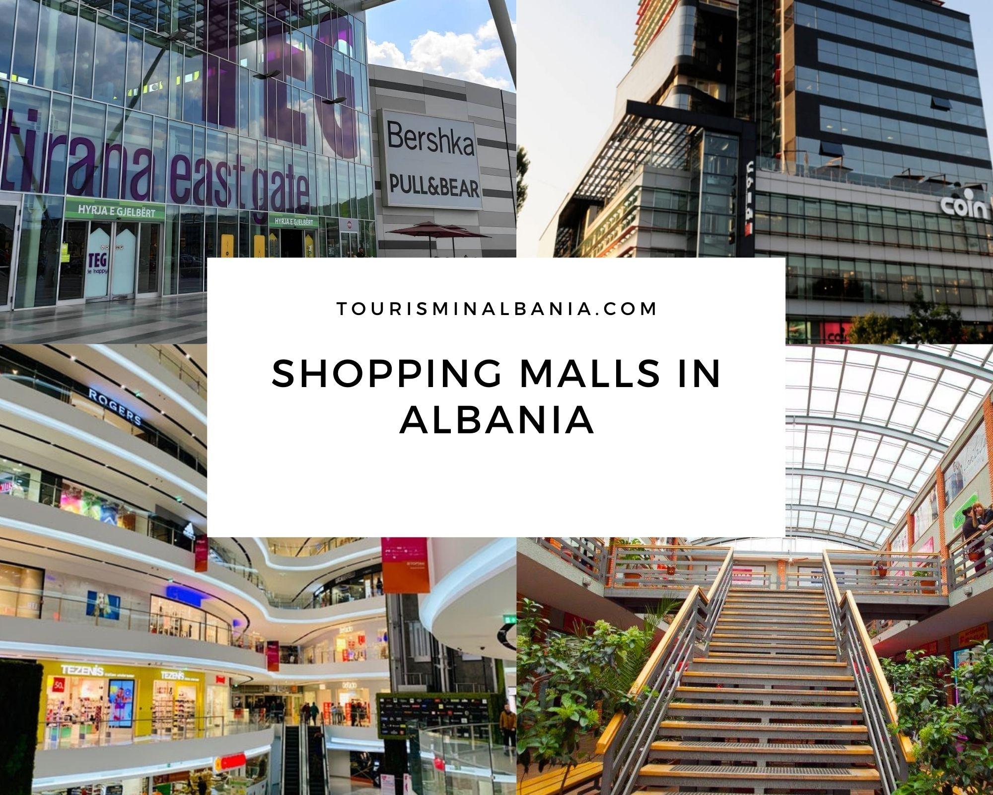 Shopping malls in Albania