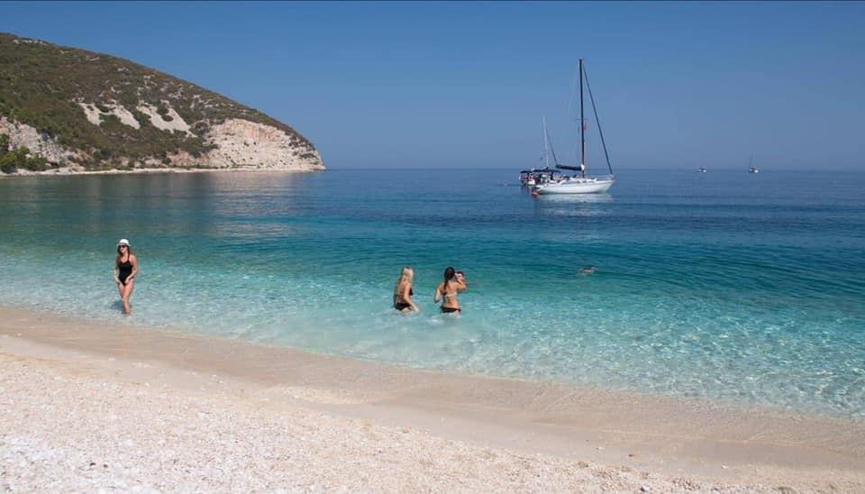 Sazan beach Albania
