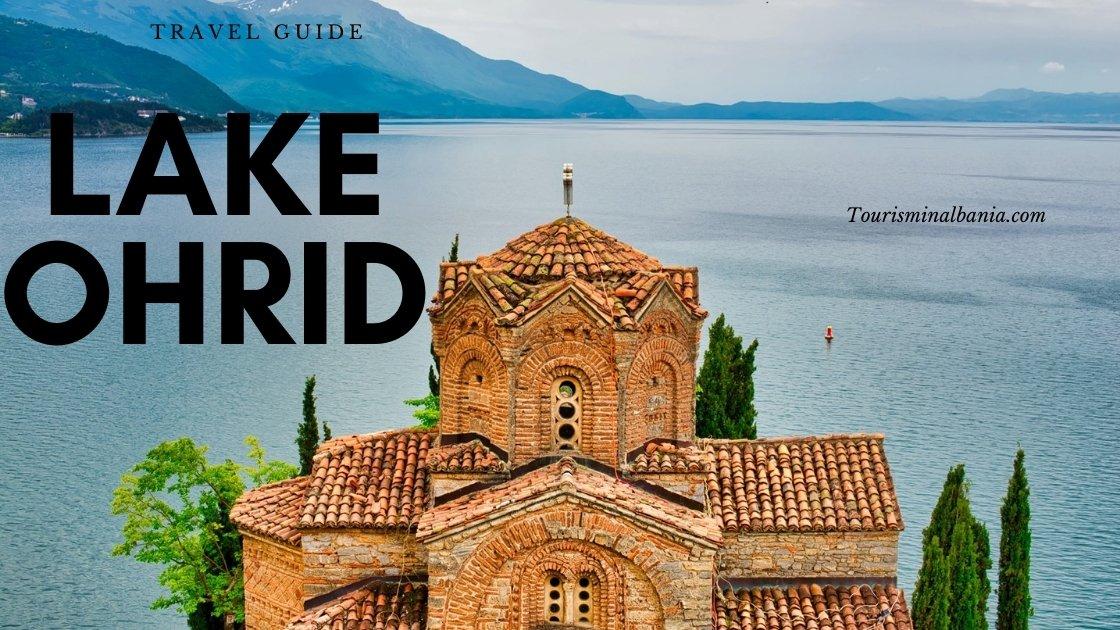 Ohrid lake, North Macedonia