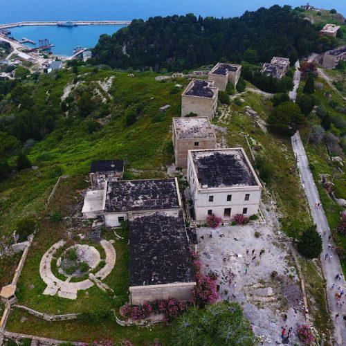Sazan, the ex-military island of Albania, now enjoyed by tourists