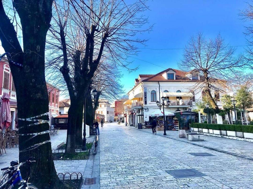 Shkoder city, Albania