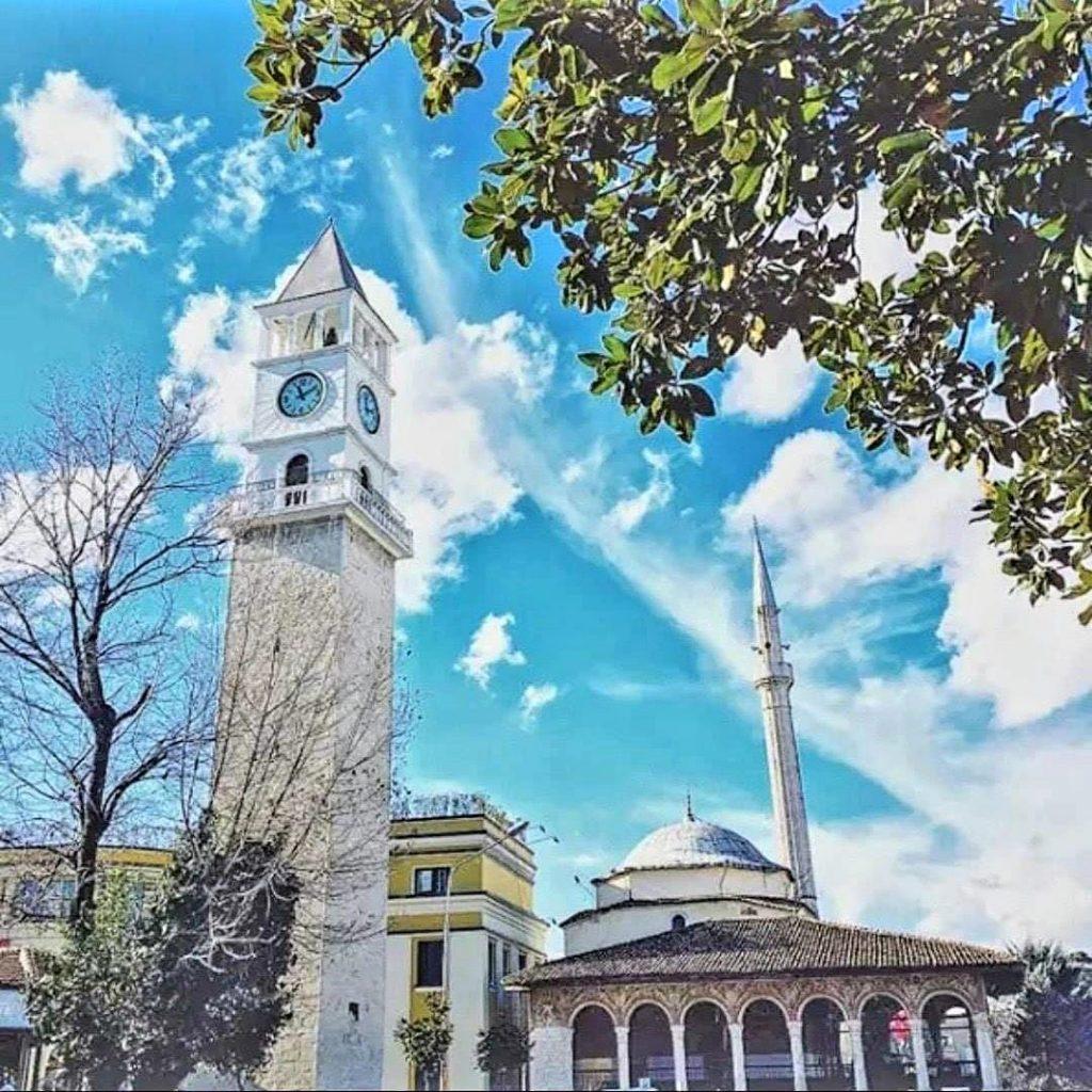 Clock tower Tirana