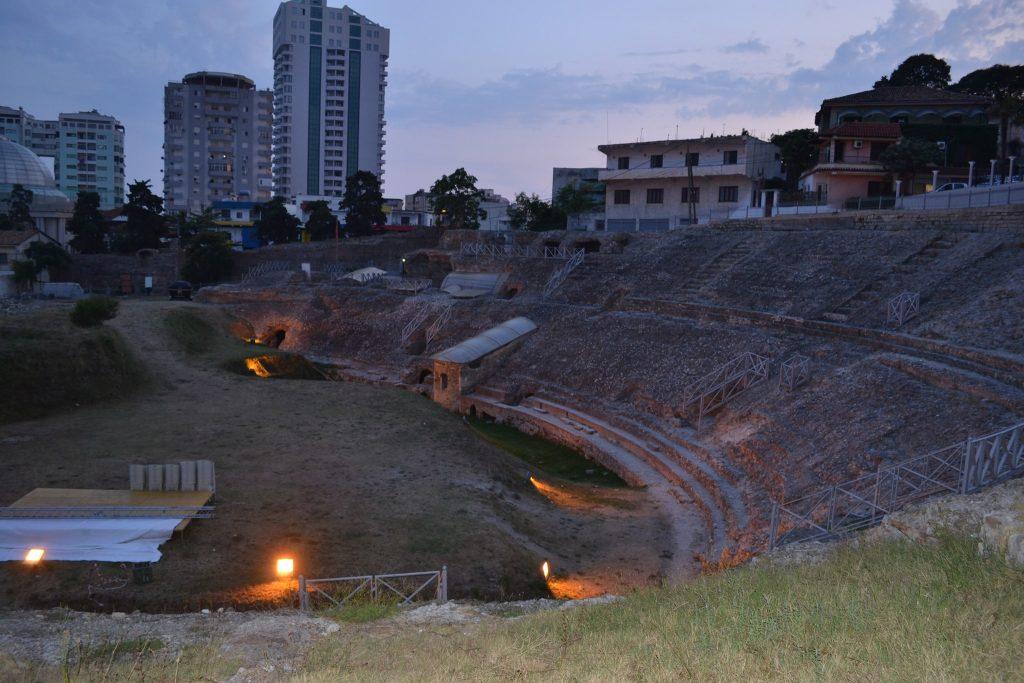 Roman Amphitheater, Durres