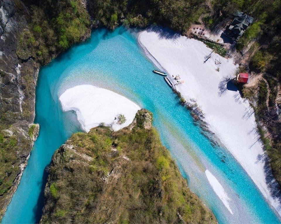 Shala River, ALBANIA